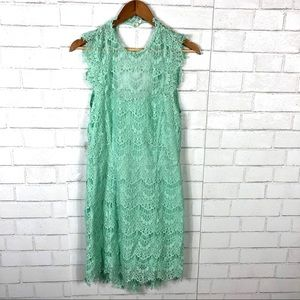 Free People Dresses - NEW Free People Daydream Bodycon Lace Slip Dress